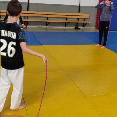 Stage judo-neige