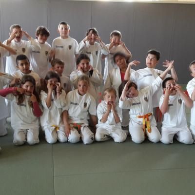 Stage judo-voile