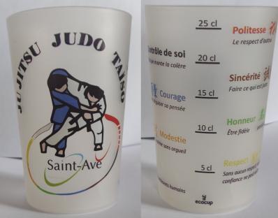 Ecocup essa judo recto verso